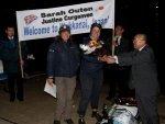 Сара Оутен достигла берегов Японии