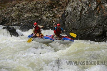 Соревнования на реке Кема