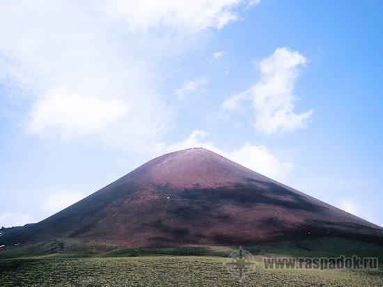Восхождение на вулкан Тятя