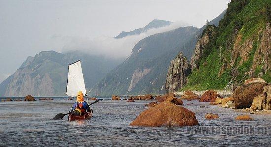 Каякеры-островитяне