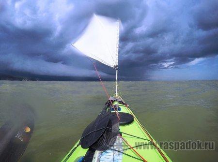 Сахалинцы на морских каяках в Хабаровском крае. Морской поход в 1002 км.